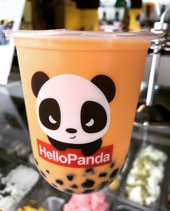 Bubble tea en Hello Panda